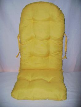 Polster Für Schaukelstuhl : rattan store schaukelstuhl auflage polster kissen neu farbe gelb ~ Watch28wear.com Haus und Dekorationen